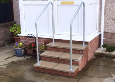 Handrails for easier access