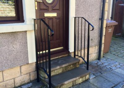 Intricate handrails
